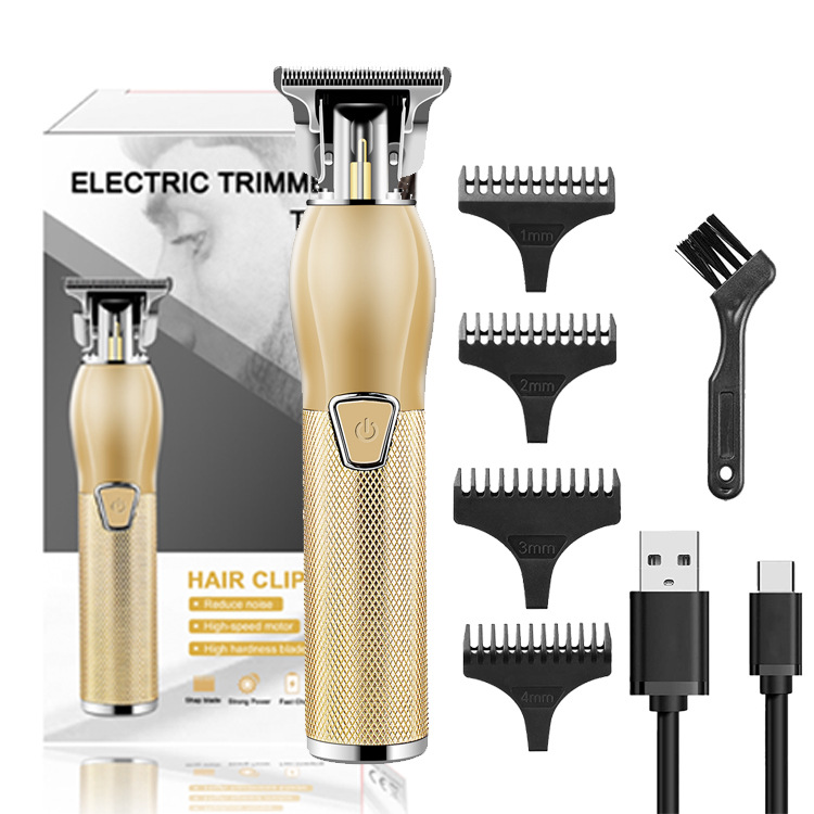 (Promotions-50% OFF)2021 New Rechargeable T-blade Men's Hair Clipper