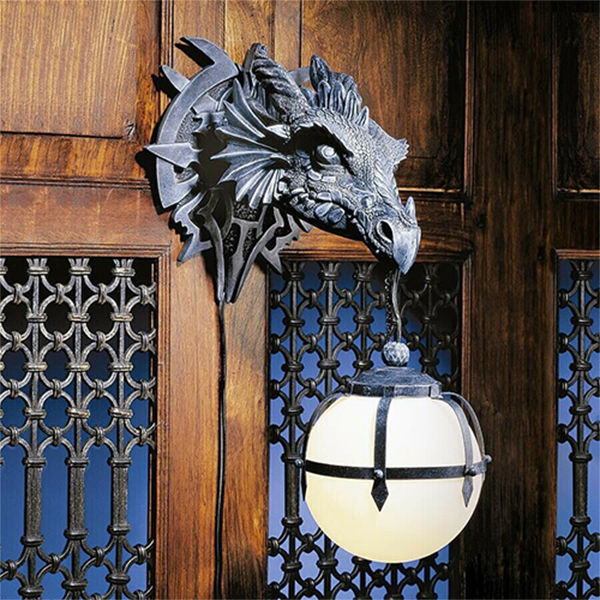 Marshgate Castle dragon wall sconce lamp🐲Buy 2 free shipping