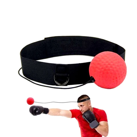 (🎅EARLY CHRISTMAS SALE - 48% OFF)  Boxing Reflex Ball Headband & Buy 2 Get Extra 10% OFF