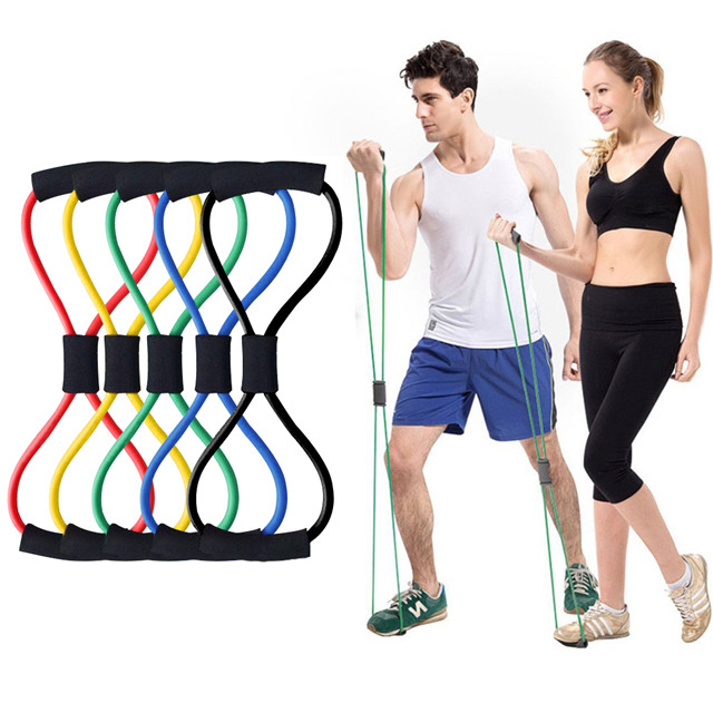 (Mother's Day-Save Buy 2 Get Extra 15% OFF) Figure 8 Rally Resistance Band-(Including tutorial)