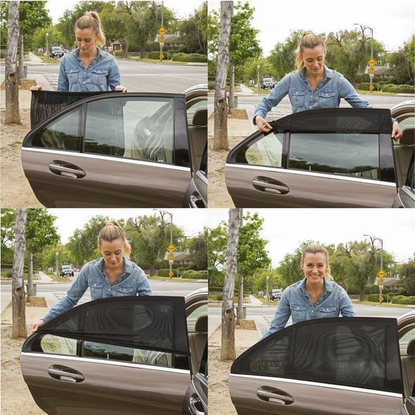 (🔥HOT SALE NOW-50% OFF)Universal Car Window Sun Shade Curtain(BUY 2 SET GET FREE SHIPPING)