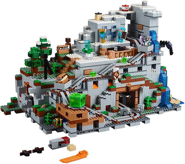 (Last Day Promotion)The Mountain Cave Building Kit - Free Shipping