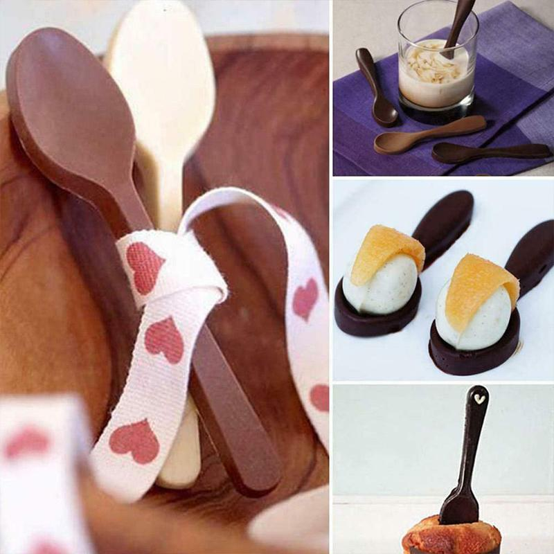 (❤️Mothers Day Promotion - Save 50% OFF) Chocolate Spoon Mold, Buy 2Get 1 Free
