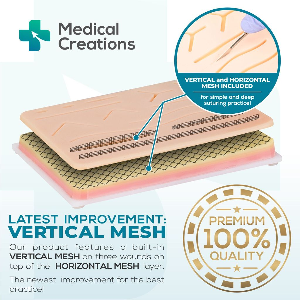 (🔥Hot Sale Now-48% OFF)Noseplum™️ Suture Training Pad(BUY 2 GET FREE SHIPPING)
