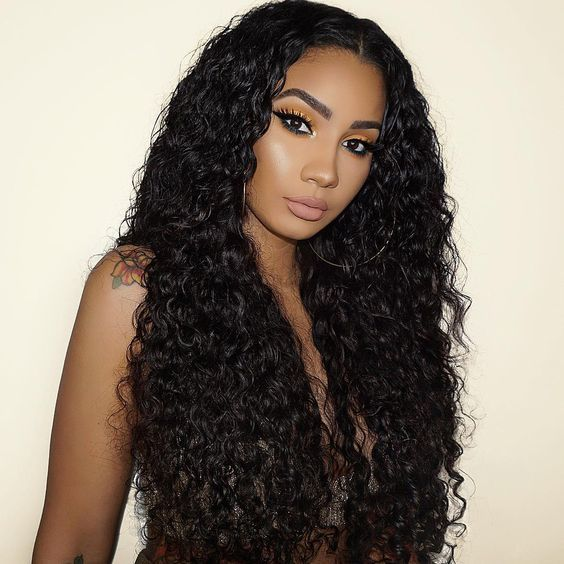Lace Front Wigs Black Curly Hair Ywigs Hair Brazilian Lace Frontal Curls For Boys