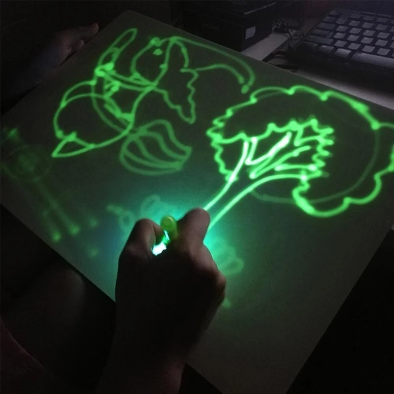 (Children's Day Hot Sale-50% OFF) Light Drawing- Fun And Developing Toy
