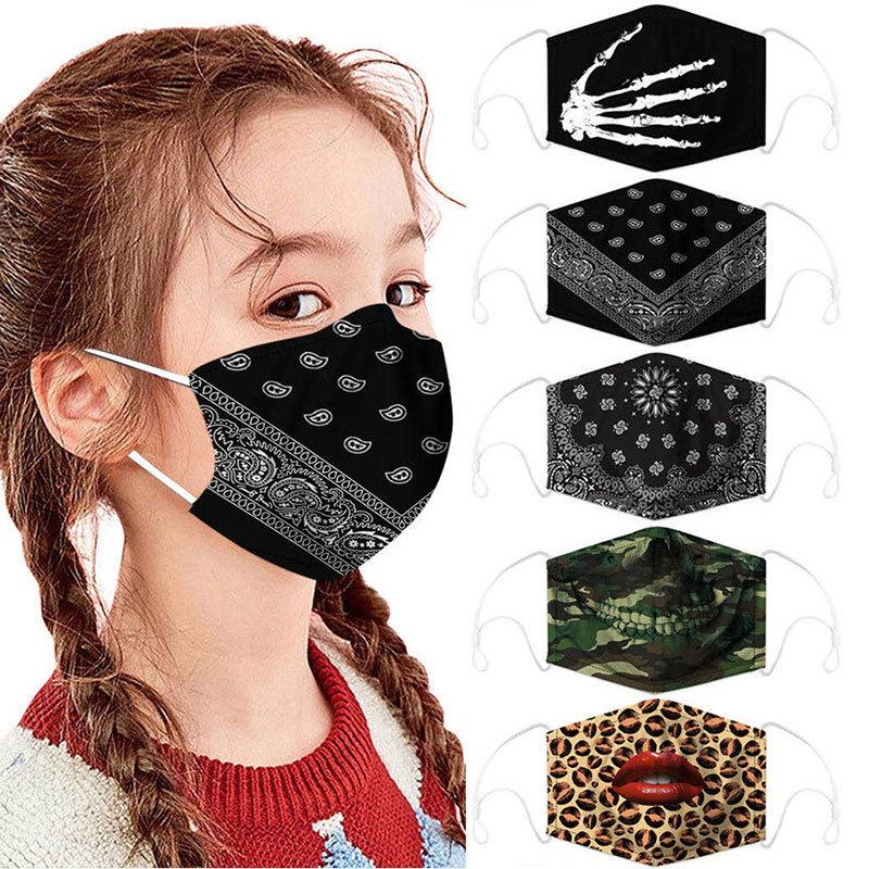 5Pcs Cloth Kids face mask Protect Reusable Comfy Washable Made In USA masks