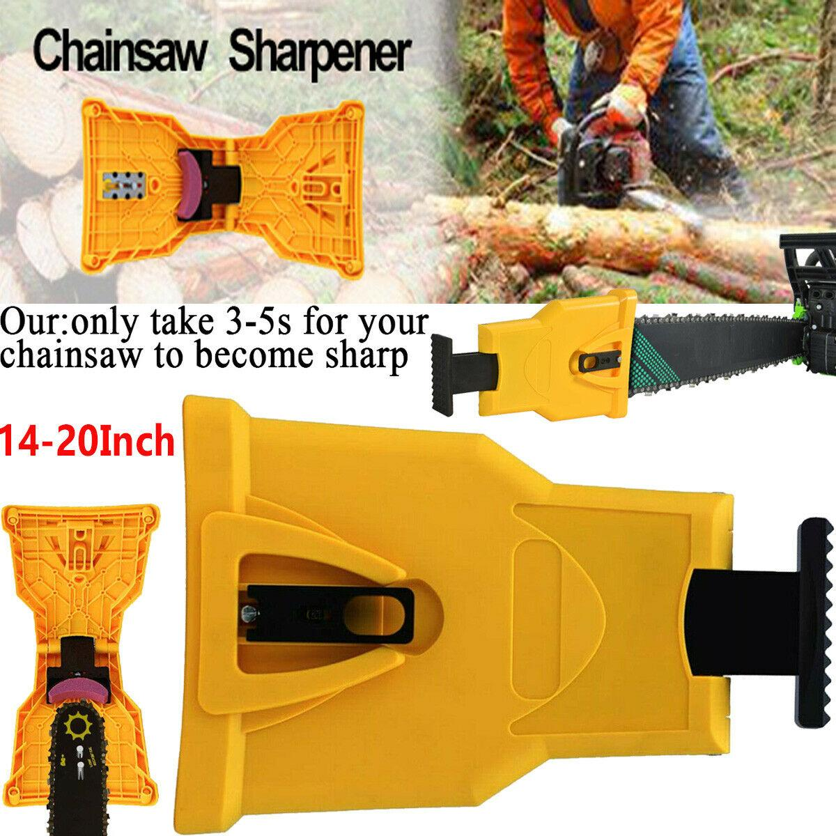 Year-End Promotions 50% OFF -- Chainsaw Teeth Sharpener