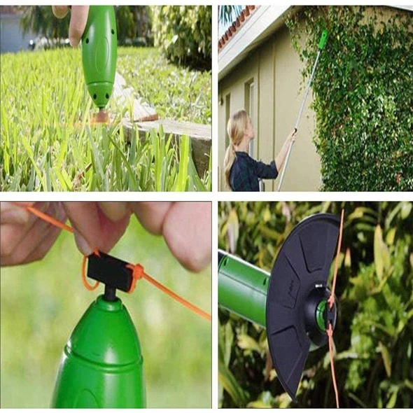 Retractable Grass Cordless Electric Lawn Mower