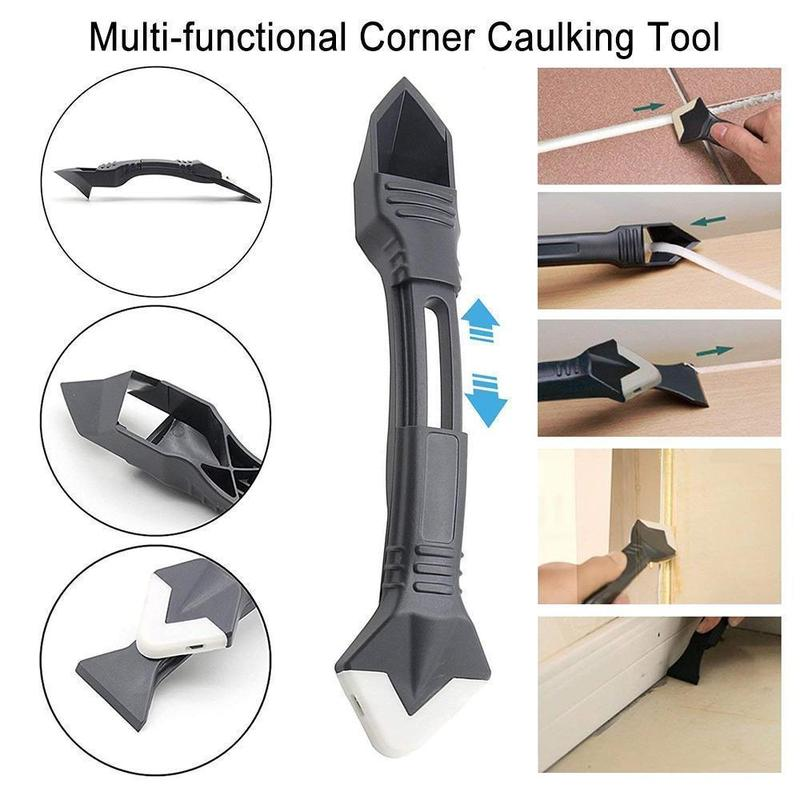 🔥2021 Hot Sale 50% OFF🔥 3-in-1 Silicone Caulking Tools & Buy 2 Get 1 Free