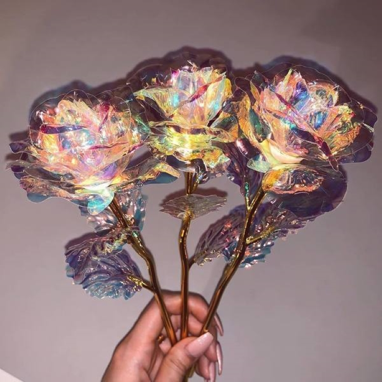 Limited Edition Galaxy Rose (with Stand)- Buy 2 Get 1 Free