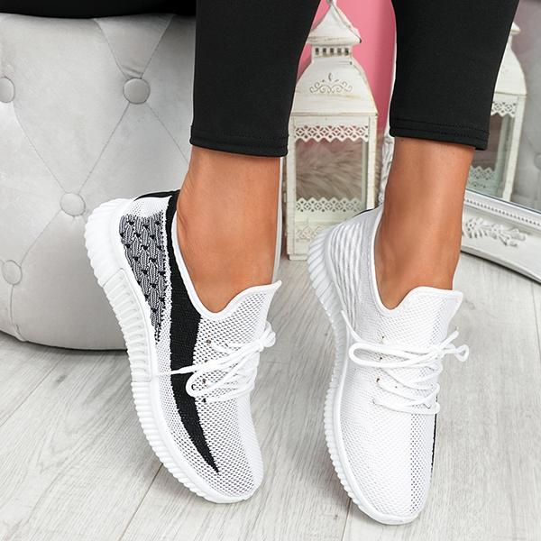 Angelovu Breathable Lightweight Lace-Up Sneakers