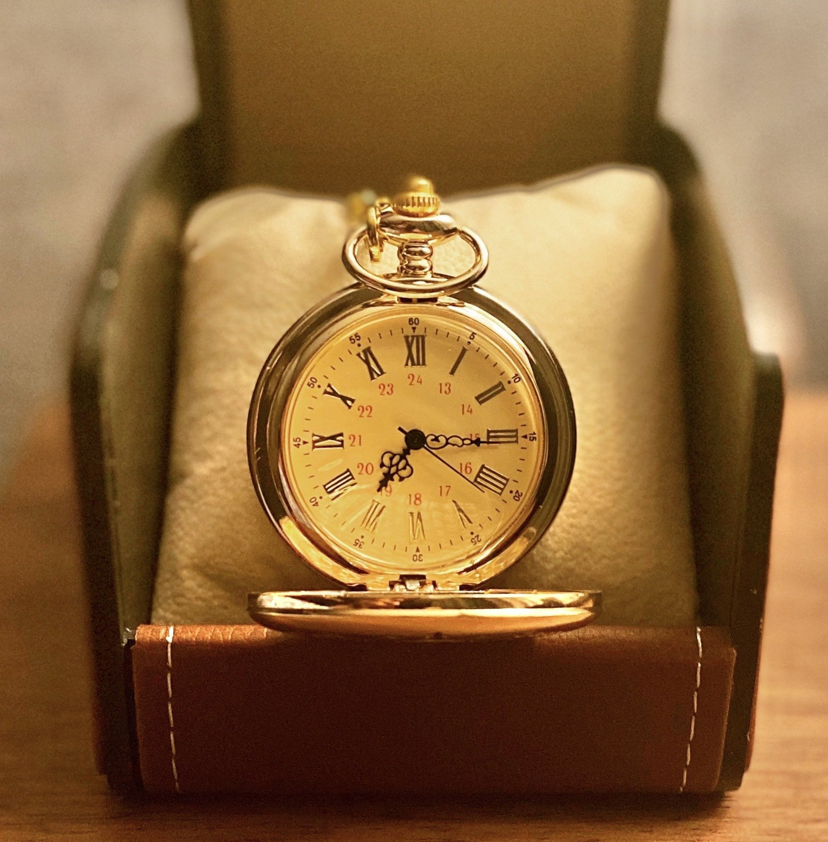 (🎄Early-Christmas Flash Sale🎄-48% OFF)To My Son  Pocket Chain Watch(Buy2 get FREE shipping)