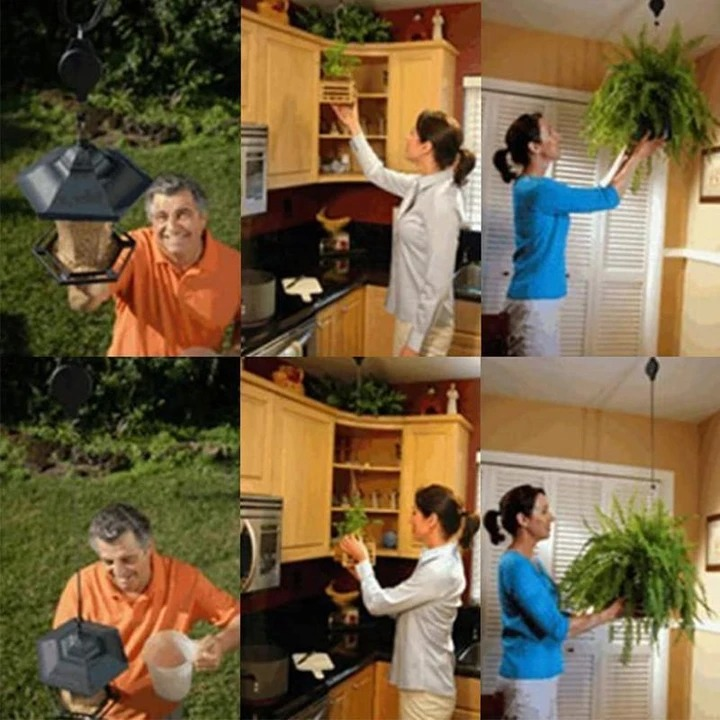 💥Early Summer Hot Sale 50% OFF💥  Easy Reach Plant Pulley Set &15KG/33IB
