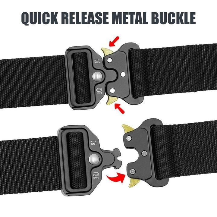 💥Early Summer Hot Sale 50% OFF💥 Military Style Tactical Nylon Belt & BUY 2 FREE SHIPPING