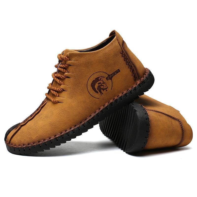 High Quality Leather Warm Boots 2019!