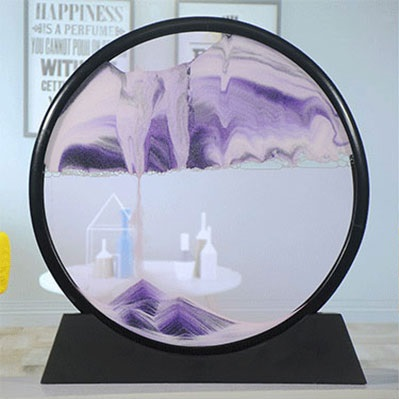 🌊DEEP SEA MOVING SAND PICTURES ART(ROUND)