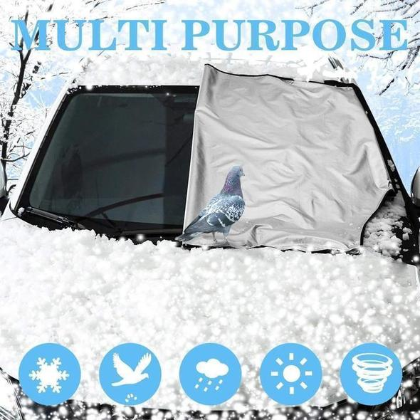 (🎅EARLY XMAS SALE - 50% OFF) Multipurpose of premium Windshield Snow Cover