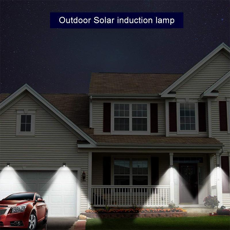 Higomore™ 20 LED Solar Lamps Outdoor, Super Bright Wall Lamp with Motion Sensor