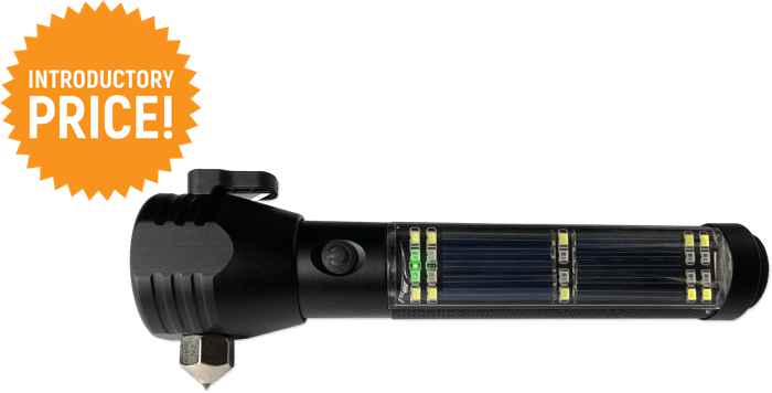 Black friday! 50%OFF! NEW 9-in-1 Ultrabright Flashlight. Powers Itself & Other Devices