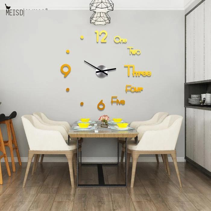 3D Wall Sticker Clock.BUY 2 FOR FREE SHIPPING!!!