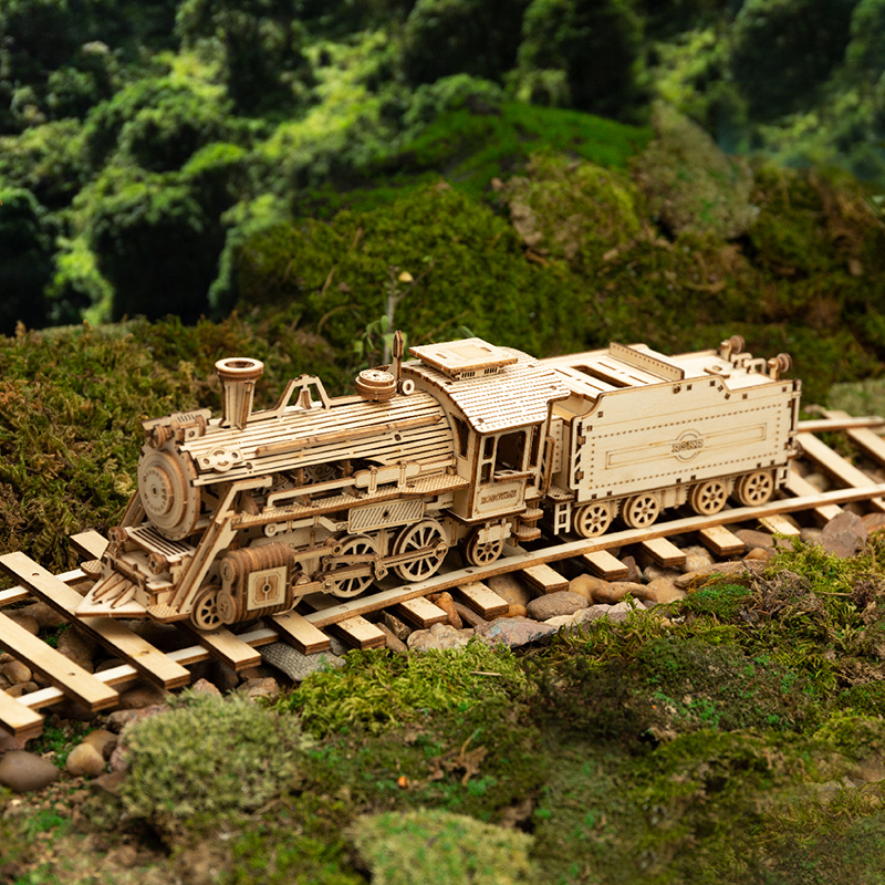 Hot Sale!!--Super Wooden Mechanical Model Puzzle 【BUY 2 FREE SHIPPING】