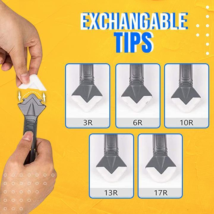 3-in-1 Silicone Caulking Tool