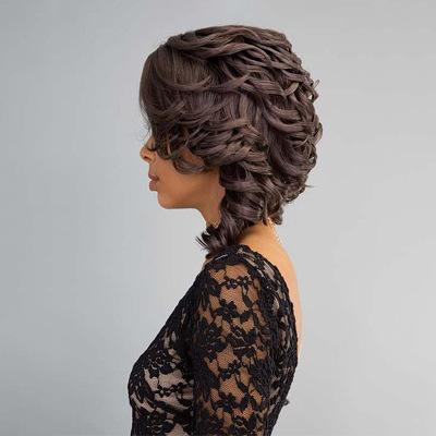 Women LunaWigs C35 Gorgeous Curly Soft Layered Shoulder Length