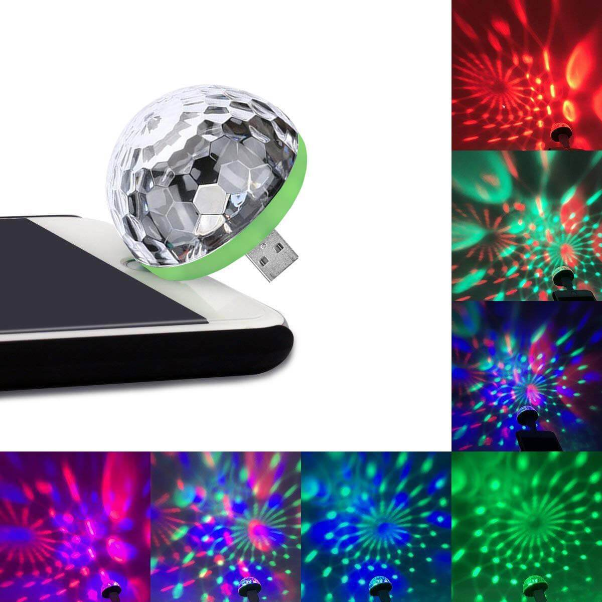 【🔥HOT SALE NOW- Buy 2 Get 1 Free】USB Party Lights Mini Disco Ball