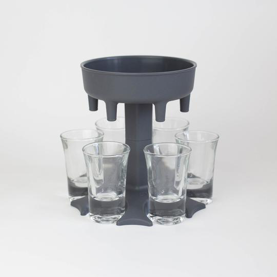 (🎅EARLY CHRISTMAS SALE - 48% OFF) 6 Shot Dispenser and Holder/Carrier