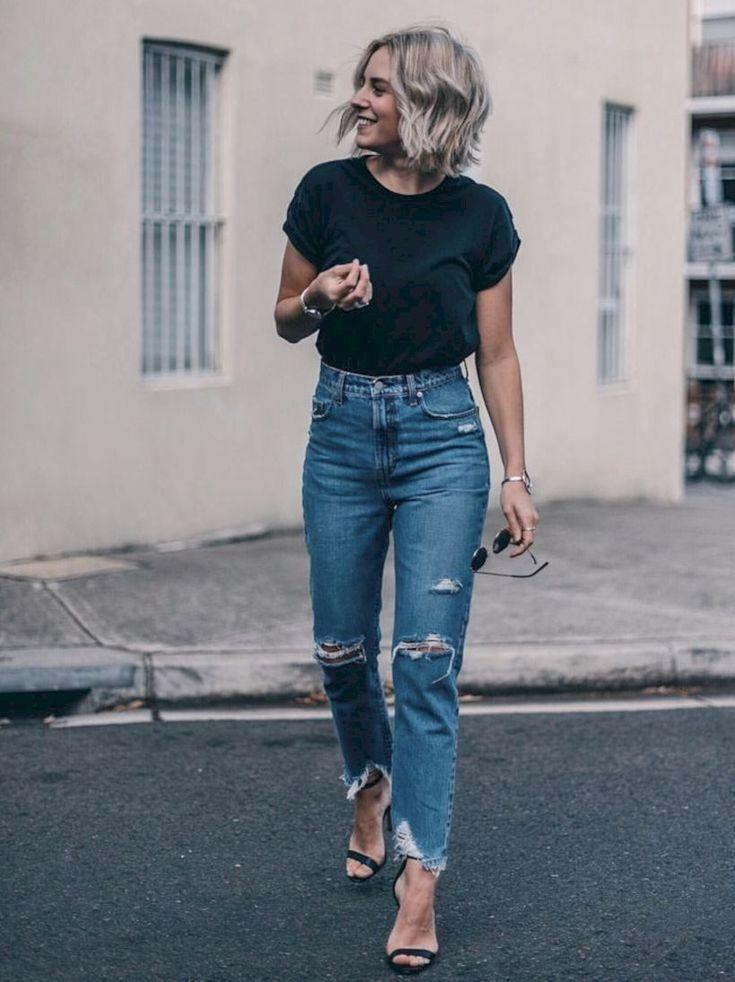 Bottoms Jeans For Women 2020 New Tapered Pants Plus Size Summer Clothes Really Ripped Jeans Formal Wedding Dresses Genie Pants Girls Gym Wear