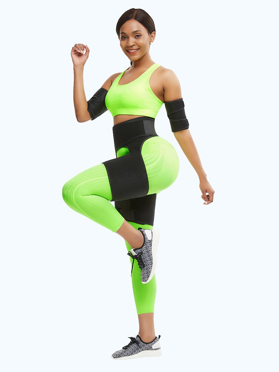 okiwilldo 2 in 1  Ultra Sweat Thigh Trimmer Wraps | Arm Trimmer