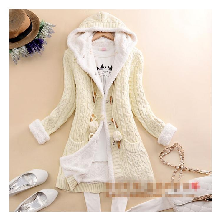 🔥 49% OFF LAST TWO DAYS🔥 2020 New cashmere thick warm hooded coat