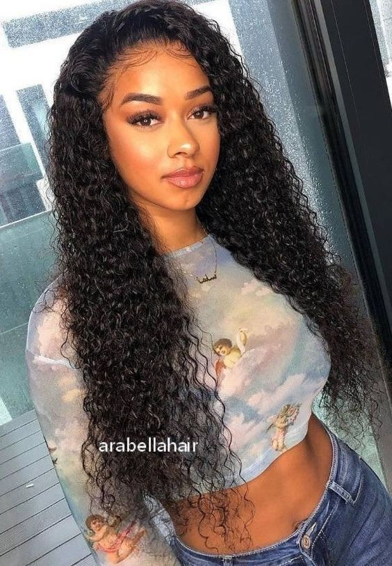 2021 Curly Wigs Lace Front Malaysian Curly Hair Wig Maui Wig Reviving Curly Synthetic Wigs