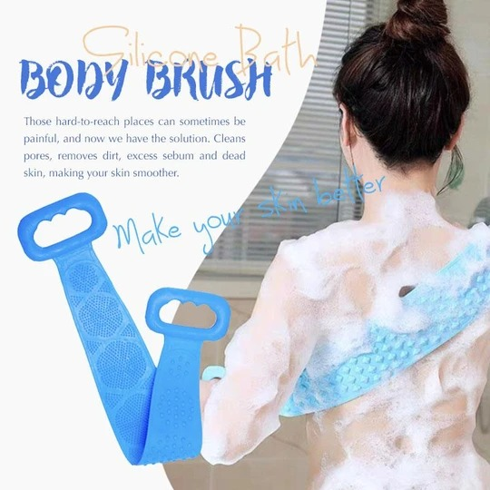 Early Christmas Hot Sale 50% OFF - Silicone Bath Body Brush(Buy 3 Free Shipping)