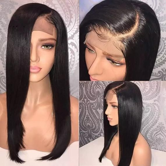 Lace Front Wigs Black Hair Natural hair straight wigs long hair free shipping