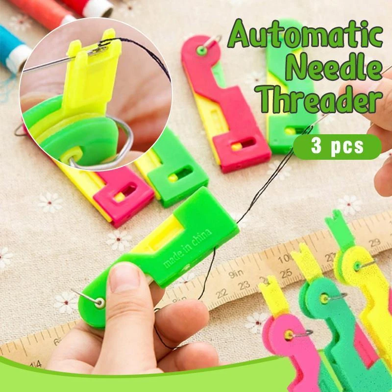 (🔥Clearance Sale - 50% OFF) Automatic Needle Threader (Buy 5 get 4 free+FREE shipping)