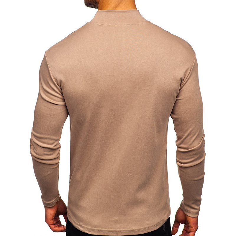 Autumn and winter long-sleeved bottoming shirt