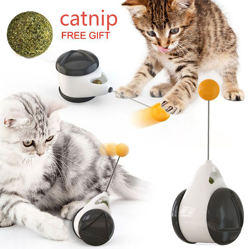 Smart Cat Toy With Wheels Automatic No Need Recharge Cat Toys