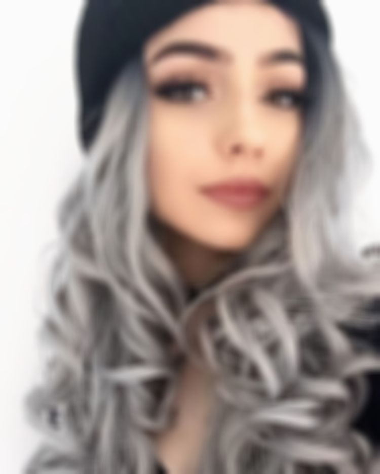 2021 New Lace Front Wigs Platinum Silver Hair Color Dark Brown To White Hair Bright Yellow Wig