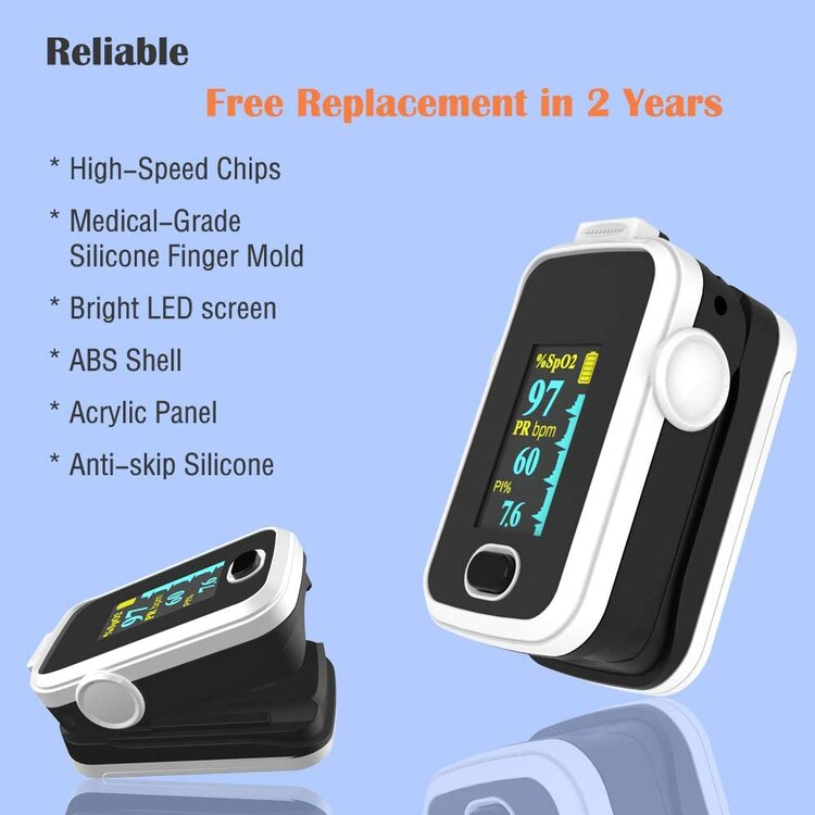 (👨⚕️Clinician Recommended)Fourth Generation YK-82PRO finger pulse oximeter