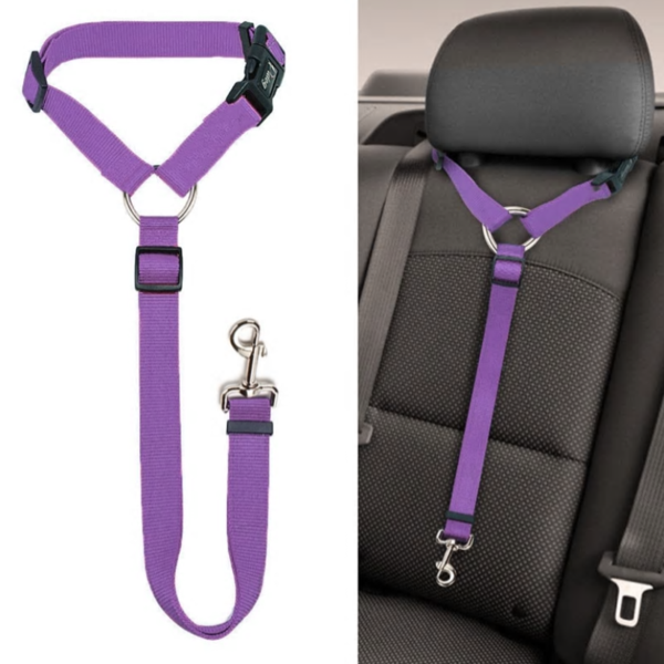 (New Year Sale- Save 50% OFF) Headrest Dog Car Safety Seat Belt- Buy 2 Get Extra 20% OFF
