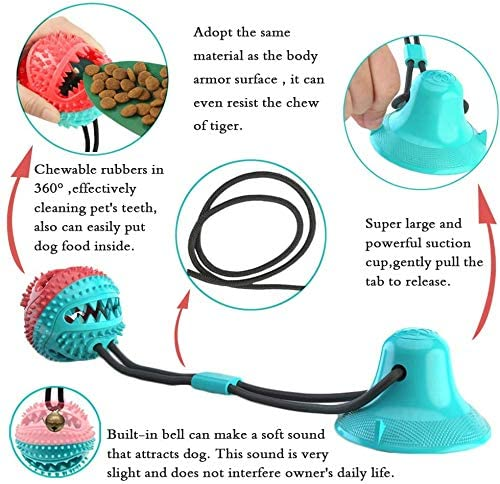🔥SUNMMER HOT SALE-50% OFF🔥Dog Toy Suction Sucker pet Leakage Food Ball - BUY 2 GET FREE SHIPPING
