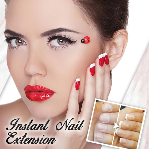 (Mid-Year Sale)Luxury Overload NailStudio Glue-On French Nails Kit