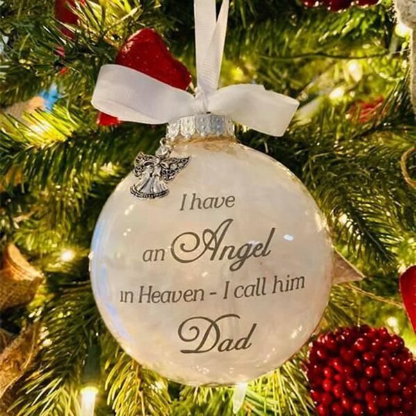 (🌲CHRISTMAS SALE NOW-50% OFF) Angel In Heaven Memorial Ornament (BUY 6 GET FREE SHIPPING)