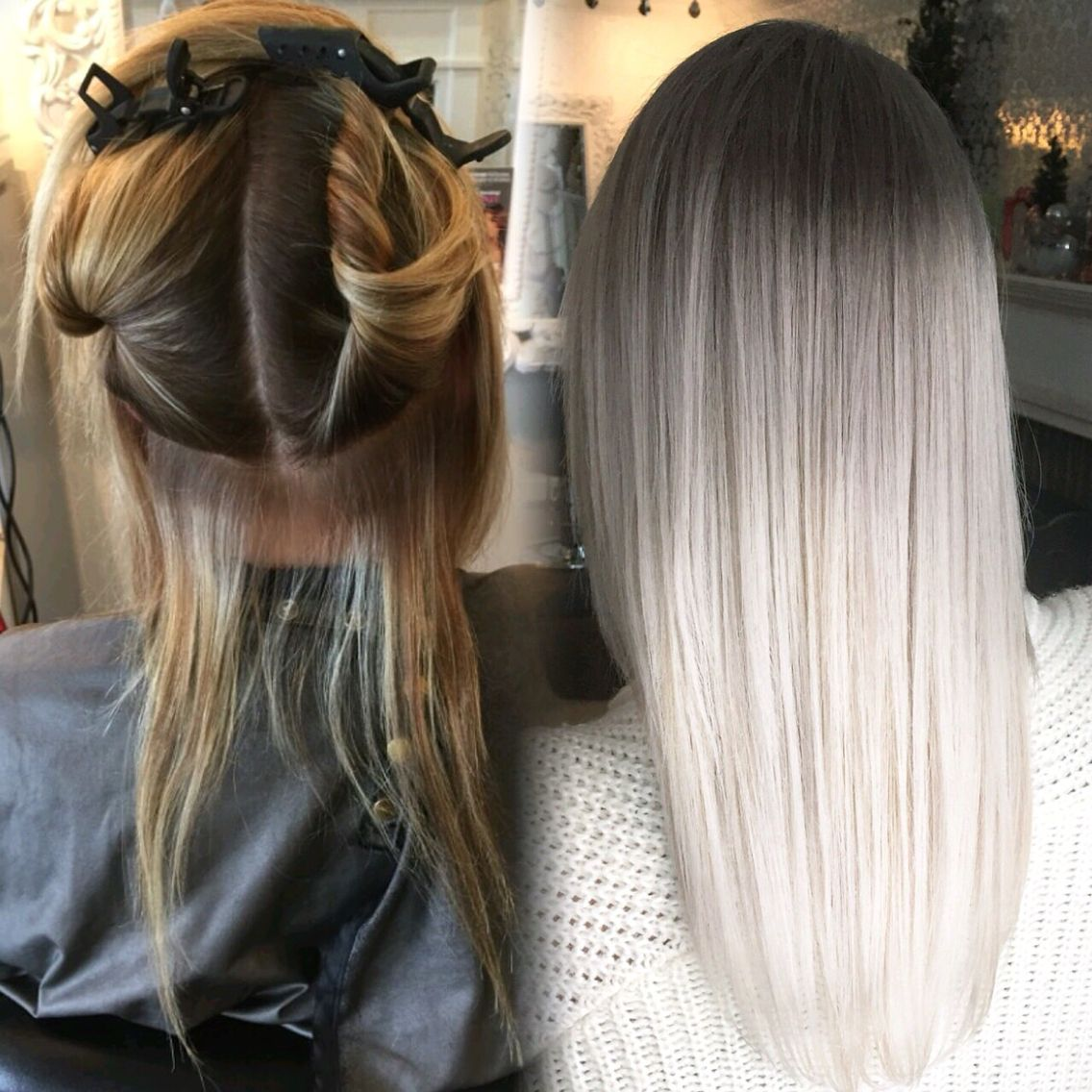 Lace Frontal Wigs For Women Gray Wigs Sexy Grey Hair Dropship Virgin Hair Companies