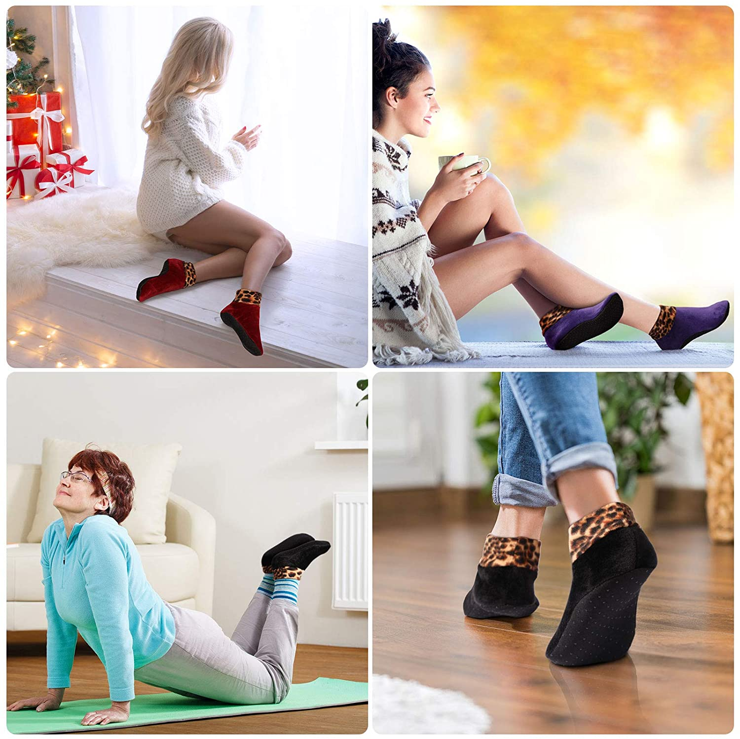✨Early Christmas Hot Sale ✨Indoor Non-slip Thermal Socks-One Size Fits All