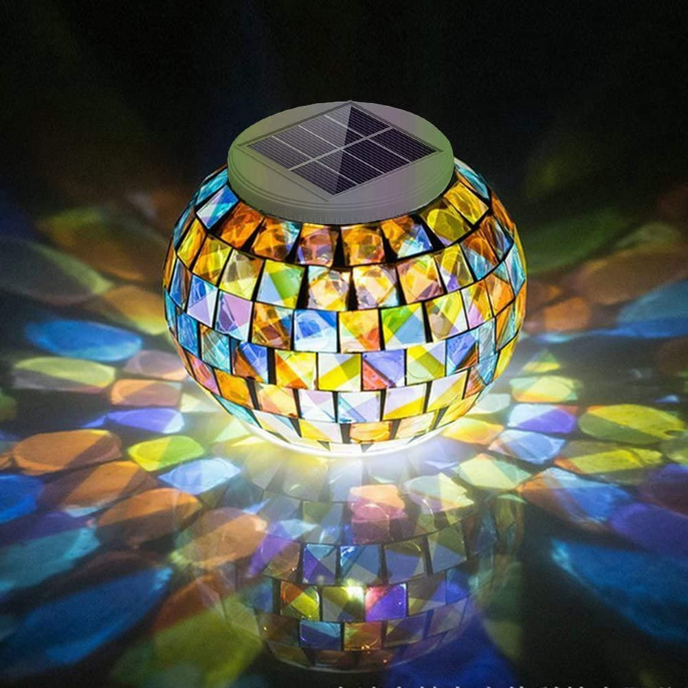 OUIIIUO™ Solar Glass Colored Atmosphere Light
