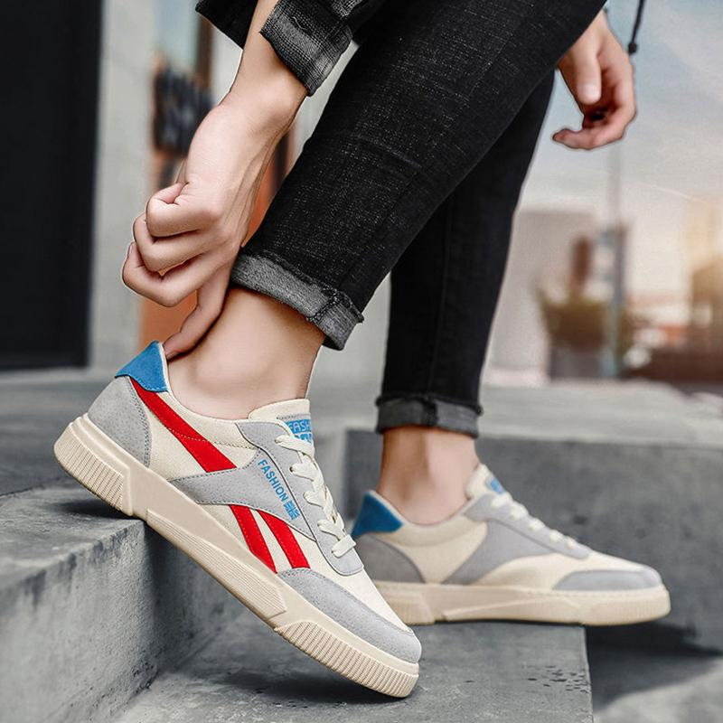 Trendy men's casual breathable shoes