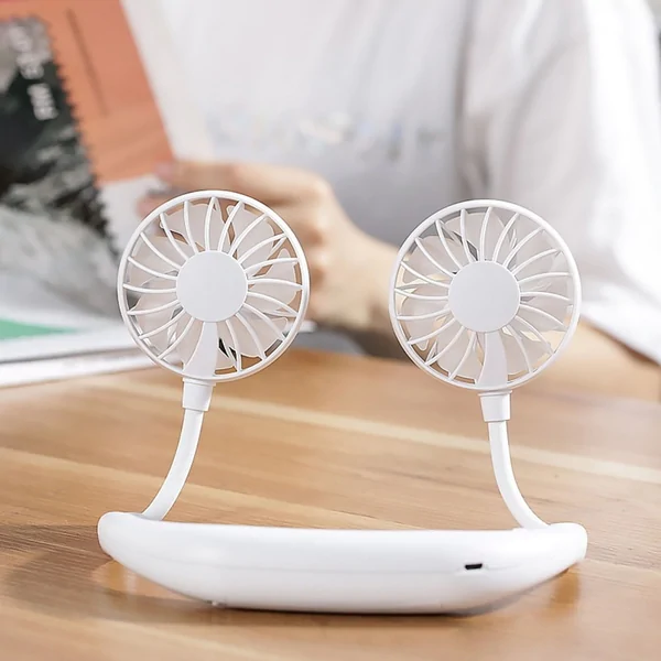 Summer Hot Sale 50% OFF - Rechargeable Neckband Fan - BUY 2 FREE SHIPPING